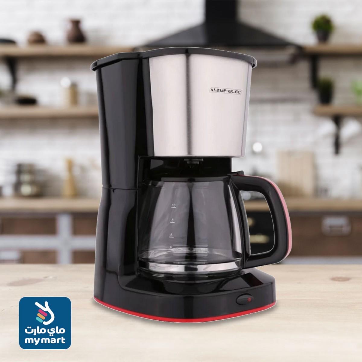 محضرة قهوة السيف , 1.25لتر ,1000W رقم E03401