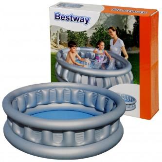 بركة سباحة دائري فضي للاطفال 43*152 سم رقم 51080