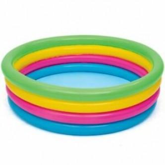 بركة سباحة دائري ملون للاطفال 4 طبقات رقم 51117