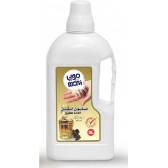 موبي صابون سائل للأيدي برائحة المسك 3 لتر