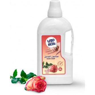 موبي صابون سائل للأيدي برائحة ورد 3 لتر