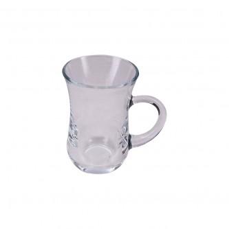 طقم بياله شاي زجاج  4 حبه رقم 570-07-55411/SB12