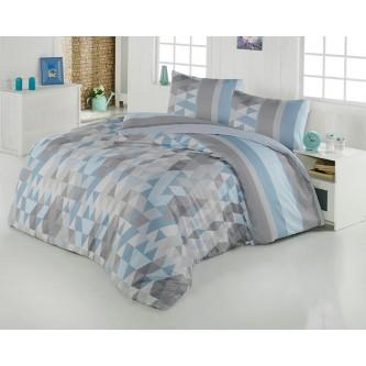 طقم لحاف مفرش سرير فندقي  ,7 قطعه , نفرين ,