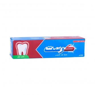 معجون اسنان  125مل كرست برائحة النعناع المنعش