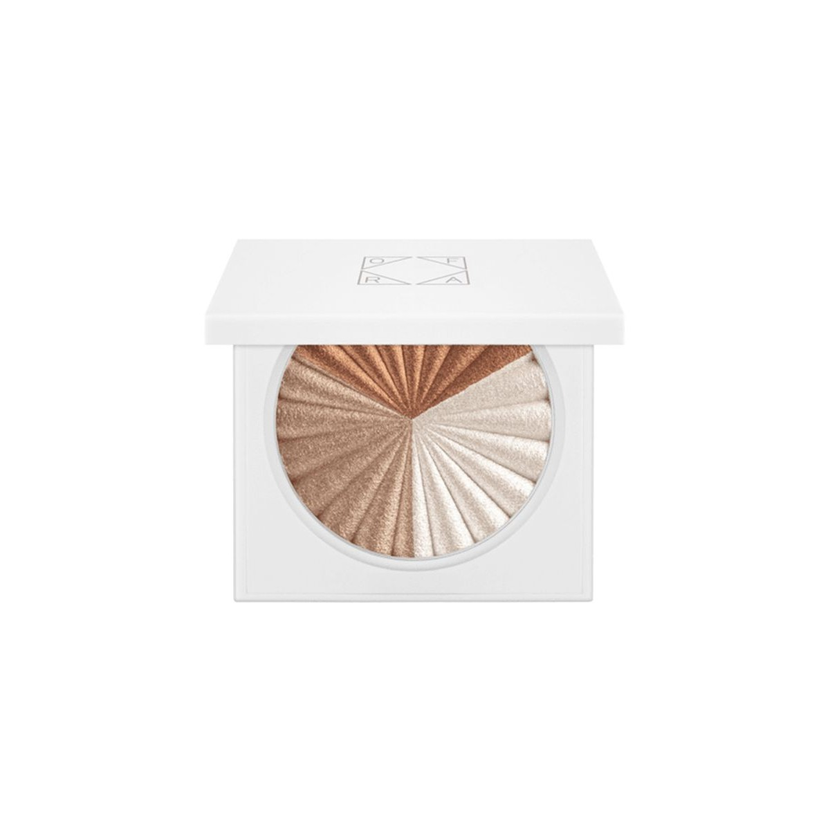اضاءة - بودرة - اوفراء ثلاتي -لتوحيد لون البشرة، - بني، 10 جرام