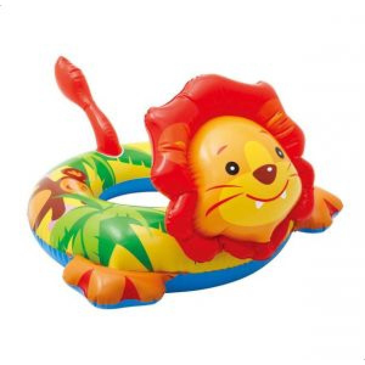 كفر سباحة دائري ملون للاطفال شكل اسد موديل 589221NP