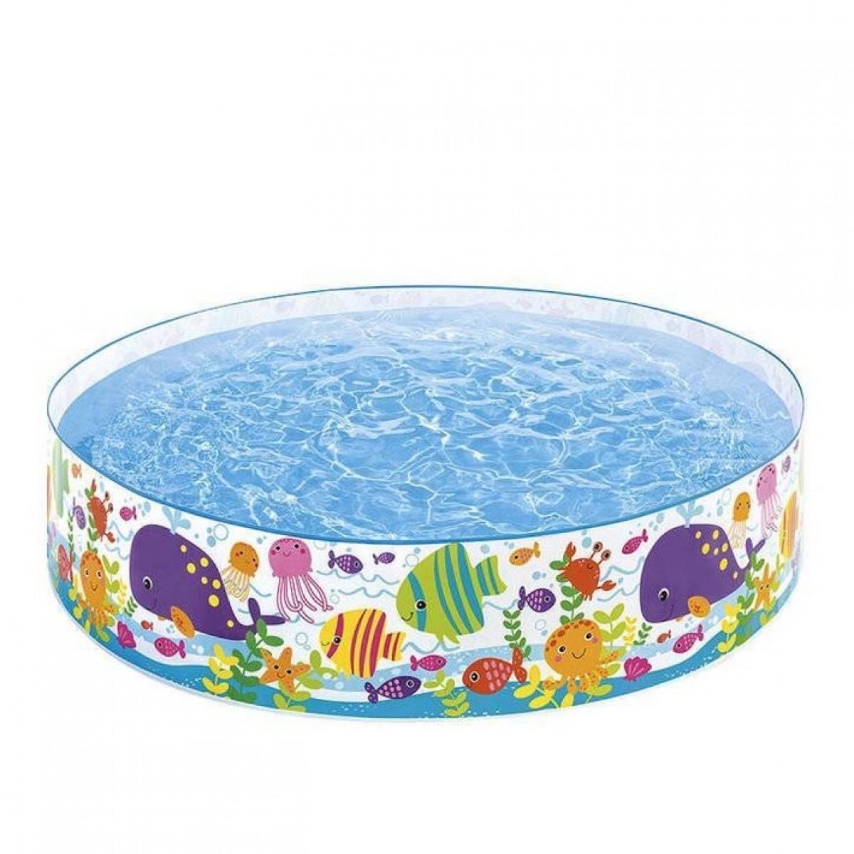 حوض سباحة قابل للنفخ سنست جلو للاطفال من انتكس - 56452NP
