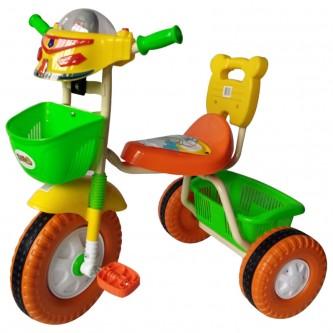 دراجة اطفال ثلاث عجلات - مقعد واحد -  الوان متعدده رقم 905