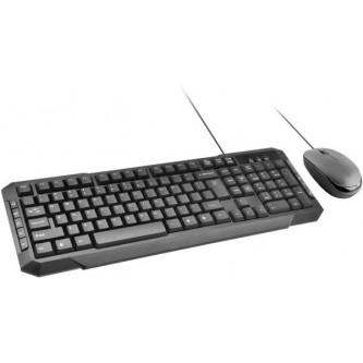 لوحة مفاتيح وماوس بروميت كيبورد مع الماوس نحييف لا سلكي اسود