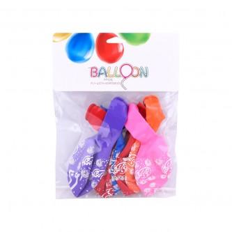 مجموعة بالونات مكونة من 6 قطعة  الف مبروك رقم 1