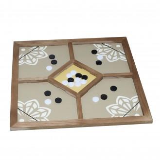 لعبة جاكورا - الرباعية   - لعبة جماعية مربع 4 خانه جديد 60 * 60 سم