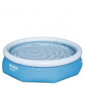 حمام سباحة ازرق شراع طوق نفخ من بيست واي 57266
