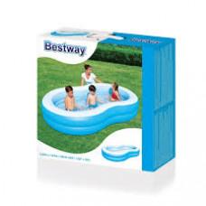 حوض سباحة بيضاوي الشكل قابل للنفخ من بيست واي 54117