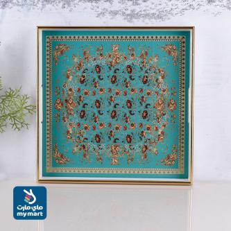 طفرية تقديم مفرد زجاج باطار خشب رقم 86095.29515-LT3
