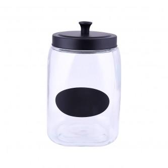 علب بهارات  زجاج غطاء حديد موديل123713/1