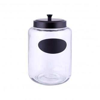 علب بهارات  زجاج غطاء حديد موديل123710/1