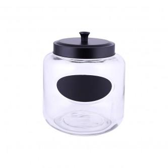 علب بهارات  زجاج غطاء حديد موديل123709/1