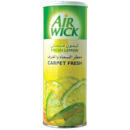 """اير ويك - معطر للسجاد و الغرف برائحة """" الليمون المنعش"""" 350 جم"""