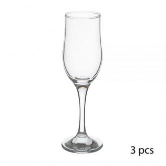 كاسات عصير زجاج 3حبةموديل  44160+1077928