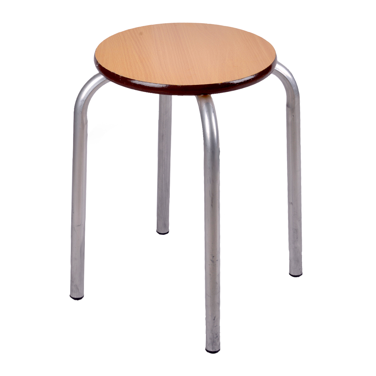 كرسي حديد خشب مقعد15205