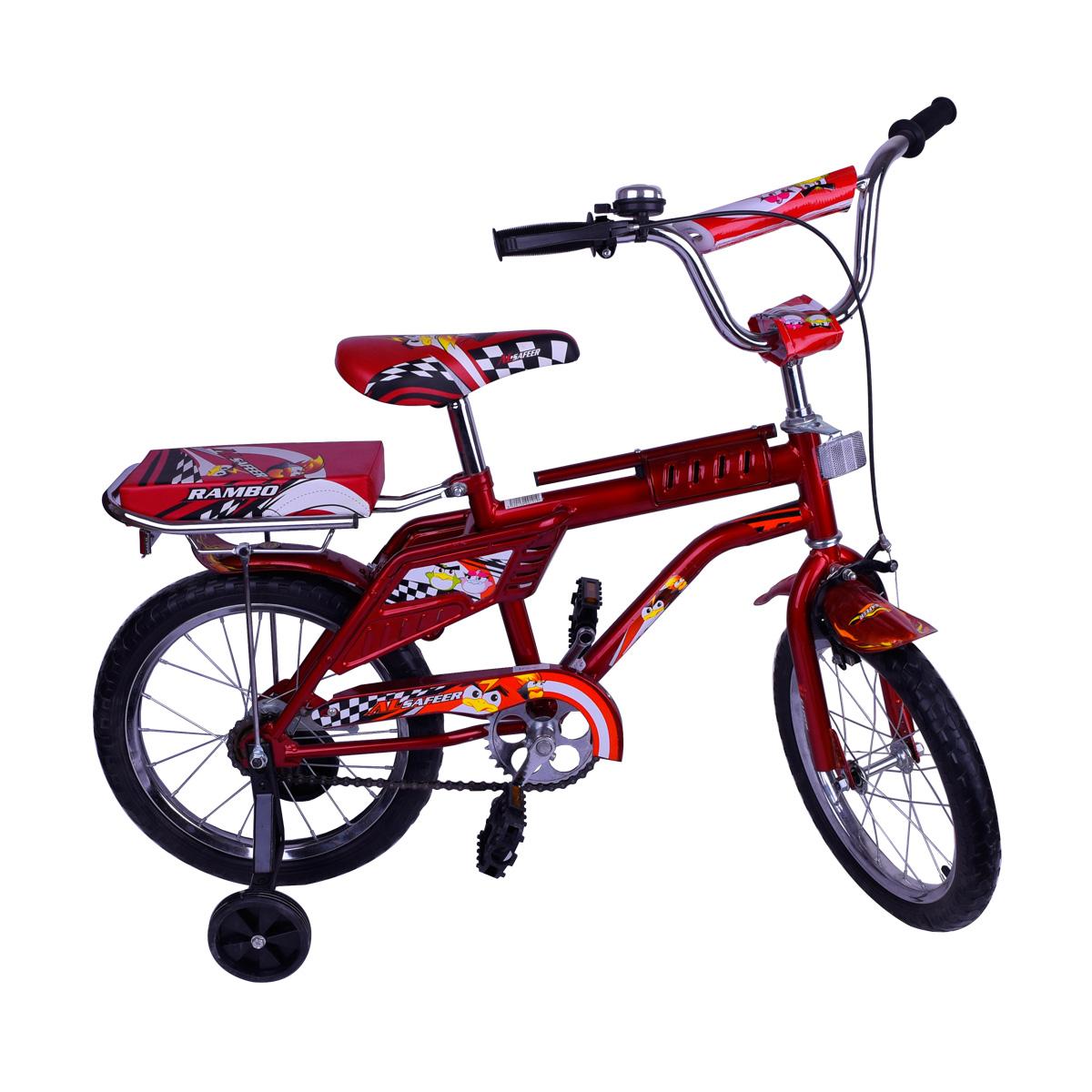 دراجة اطفال رامبو -  مقعدين  -  مقاس 16 إنش - رقم  - EVA16  -  الوان