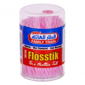 اعواد اسنان قطار العائلة بلاستيك صحي