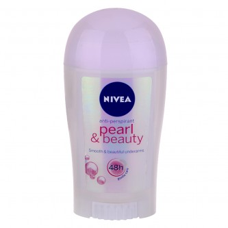 مزيل عرق نيفيا   pearl & beauty  لؤلؤة وجمال للسيدات   -40 مل
