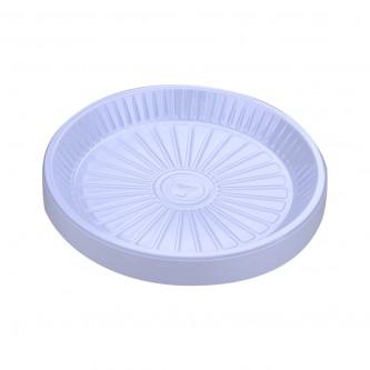 صحون بلاستيك الوطنية دائري  - رقم 26 مقوى  - 50 حبة