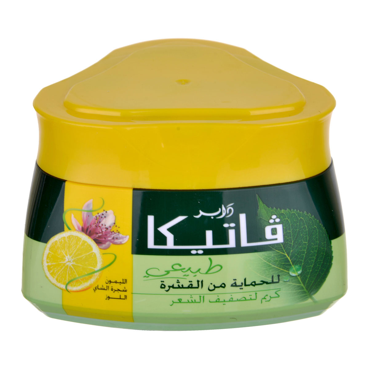 فاتيكا كريم الشعر للحماية من القشرة- الليمون, شجرة الشاي , اللوز -  140مل