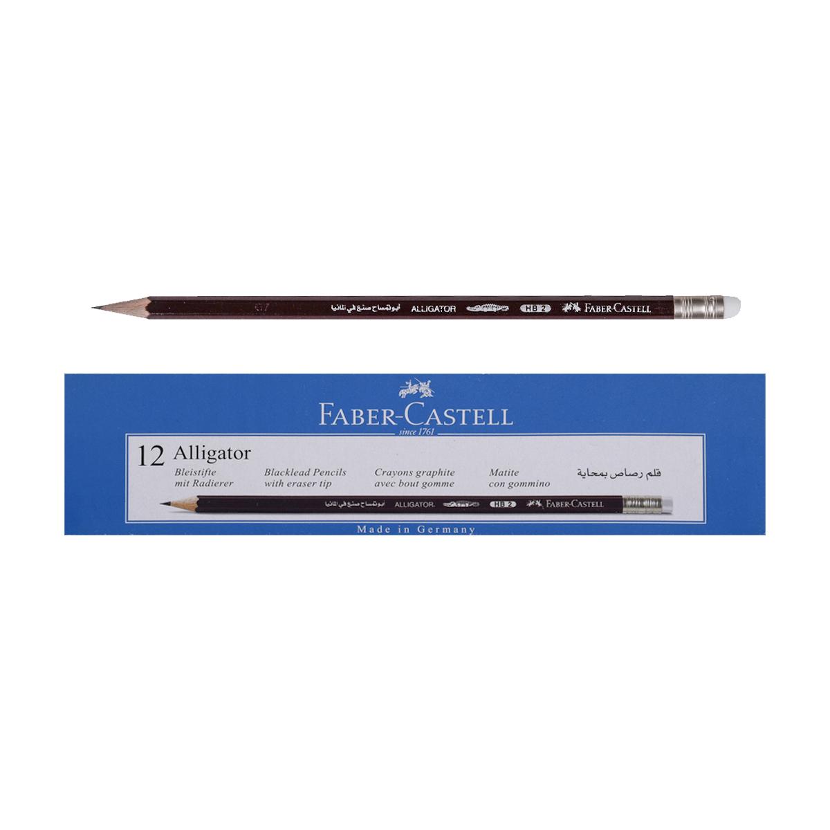 اقلام رصاص فيبر كاستل HB2 بمحاية  الماني 12 قلم -114404