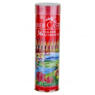 اقلام تلوين خشبية فايبر كاستل - 36  قلم تلوين