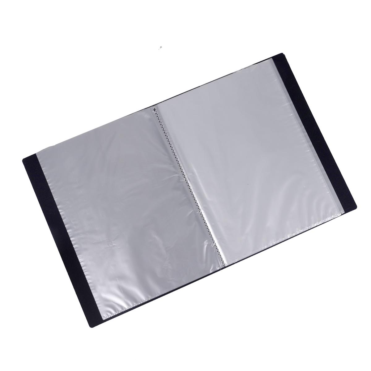 ملف جيوب شفافة 40 جيب – شفاف