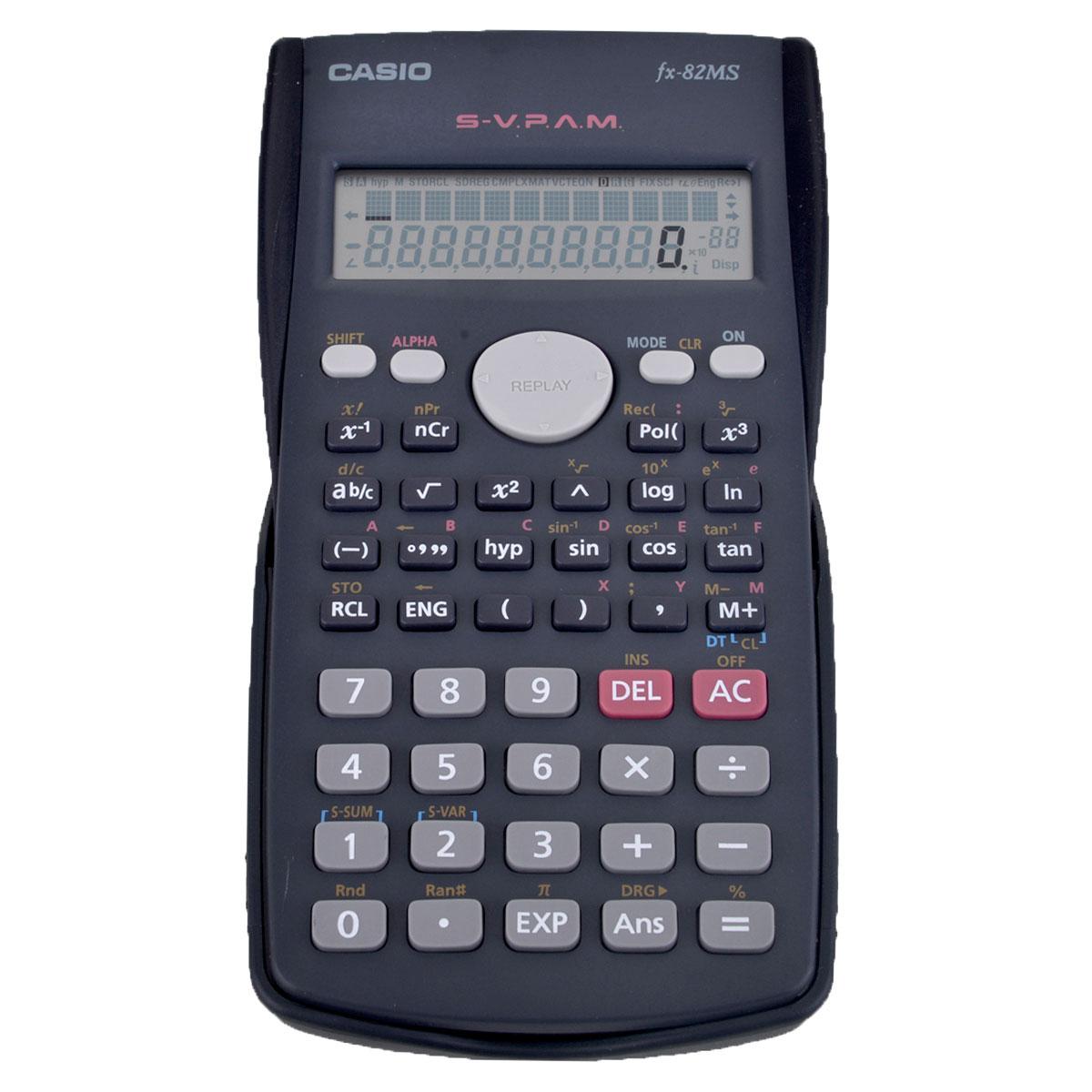 الة حاسبة علمية كاسيو 12 رقم Fx 82ms وظيفة 240 Fx 82ms