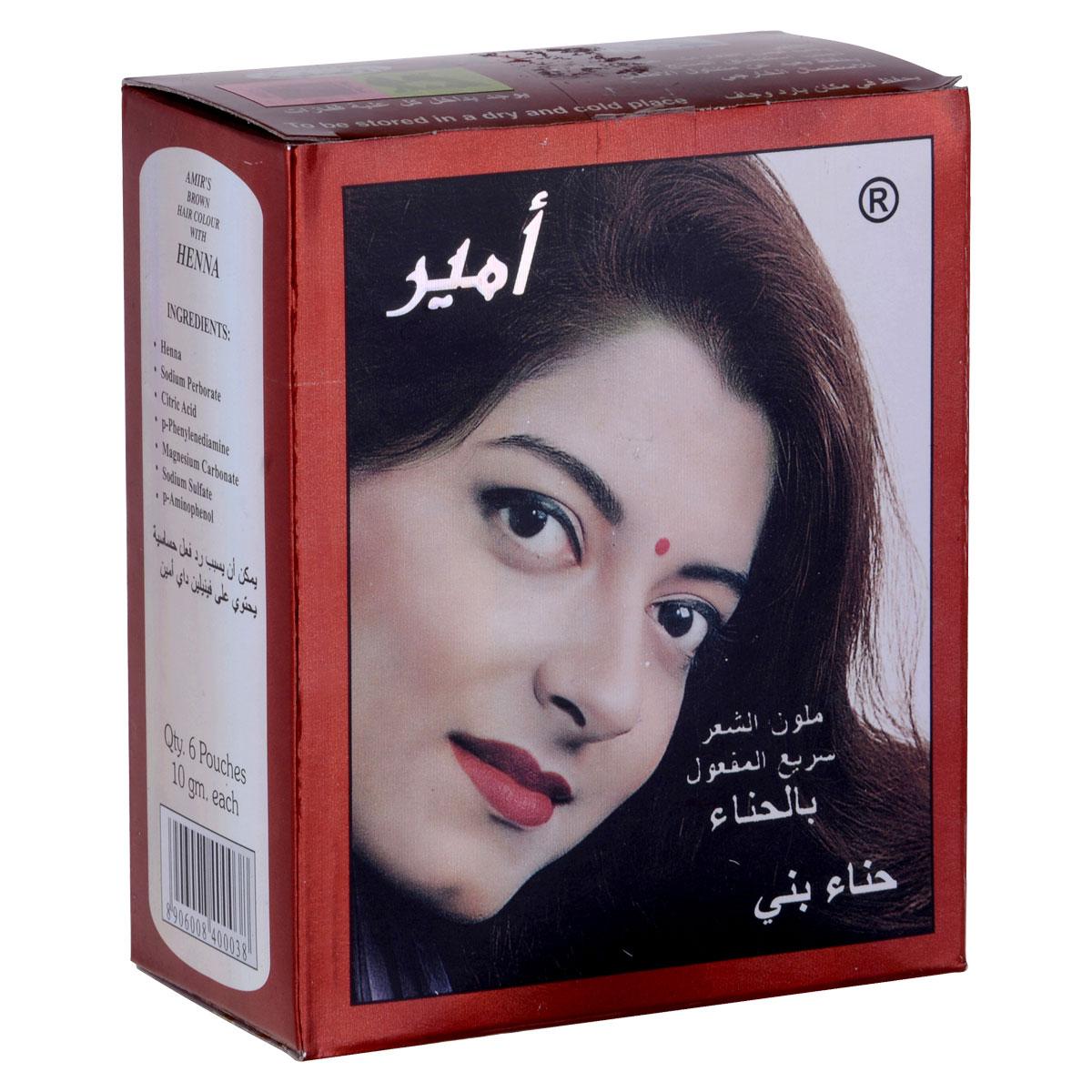 صبغة شعر من امير بني10جرام في6ح