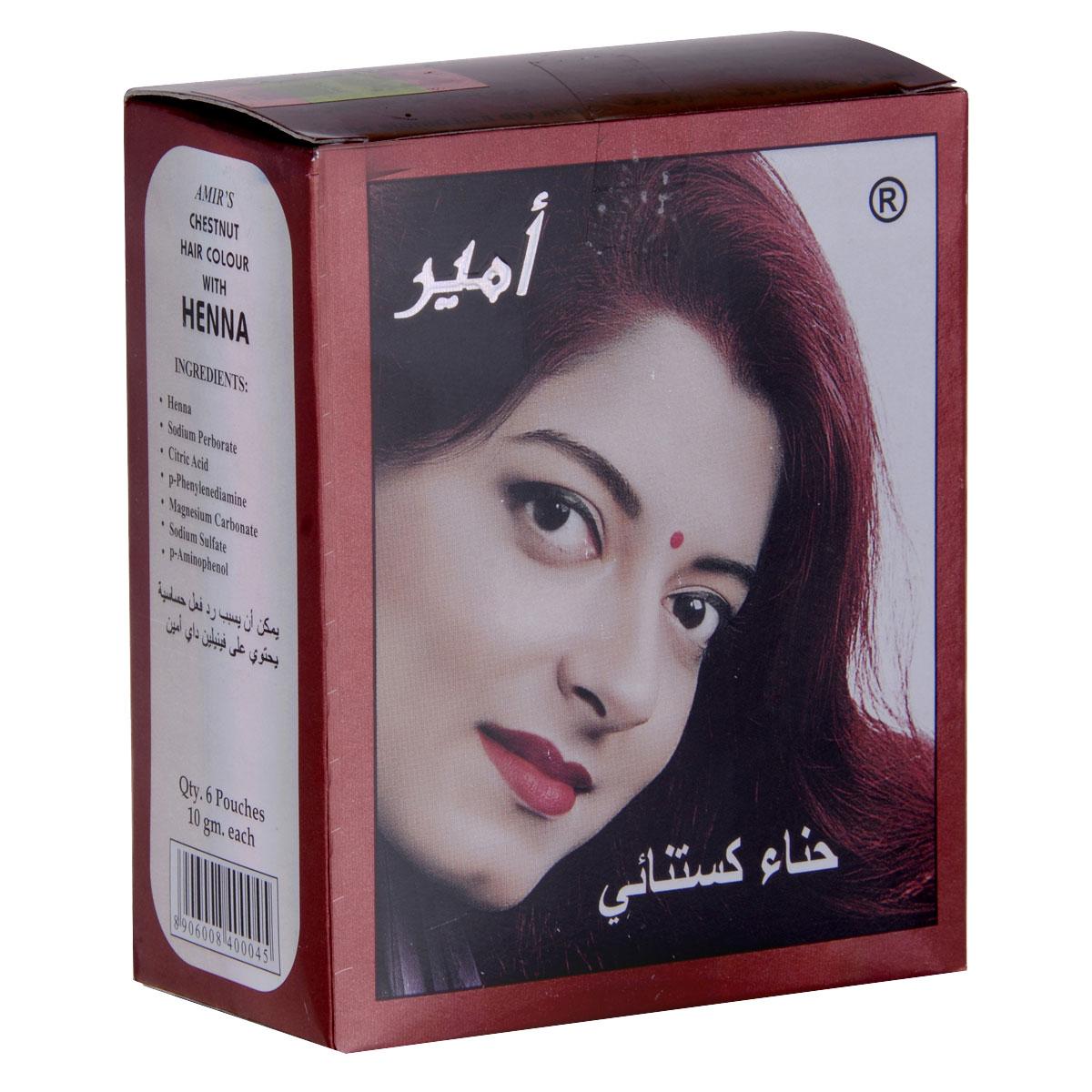 صبغة شعر من امير كستنائي ,10 جرام , 6 ح