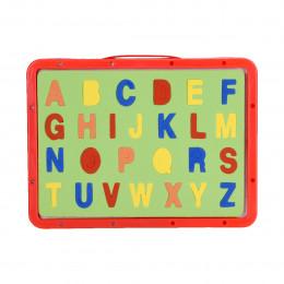 سبورة اطفال وجهين مع حروف انجليزي & عربي , قلم وممحاة رقم 5112