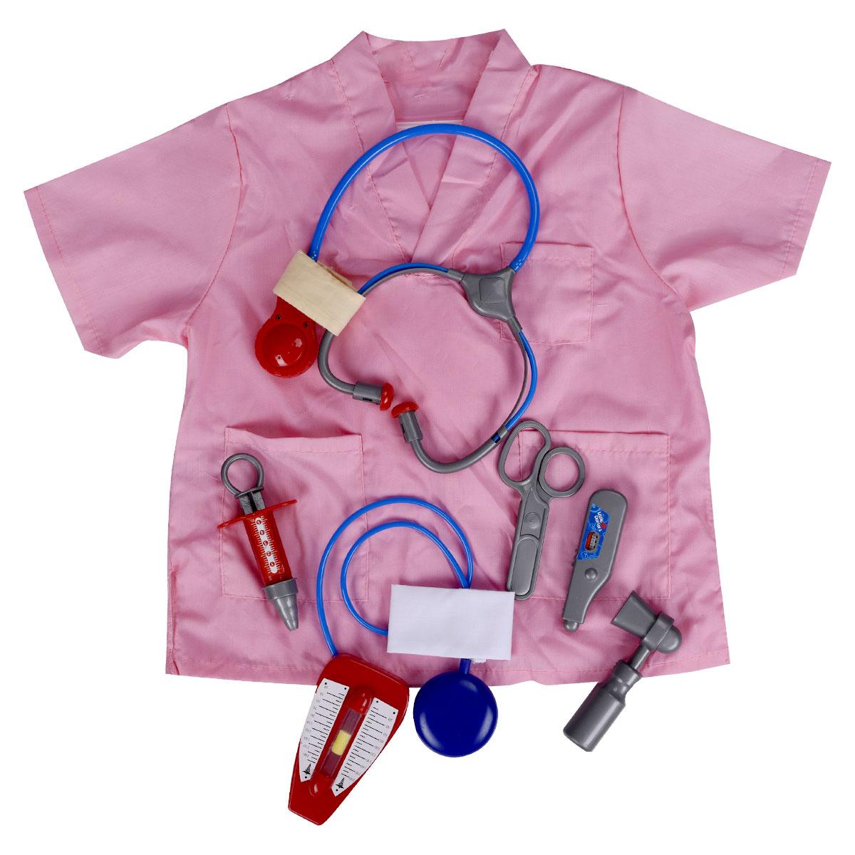 ملابس مهن زي الطبيب ممرضة.