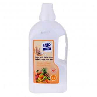 موبي صابون سائل للأيدي برائحة الفواكه 3لتر