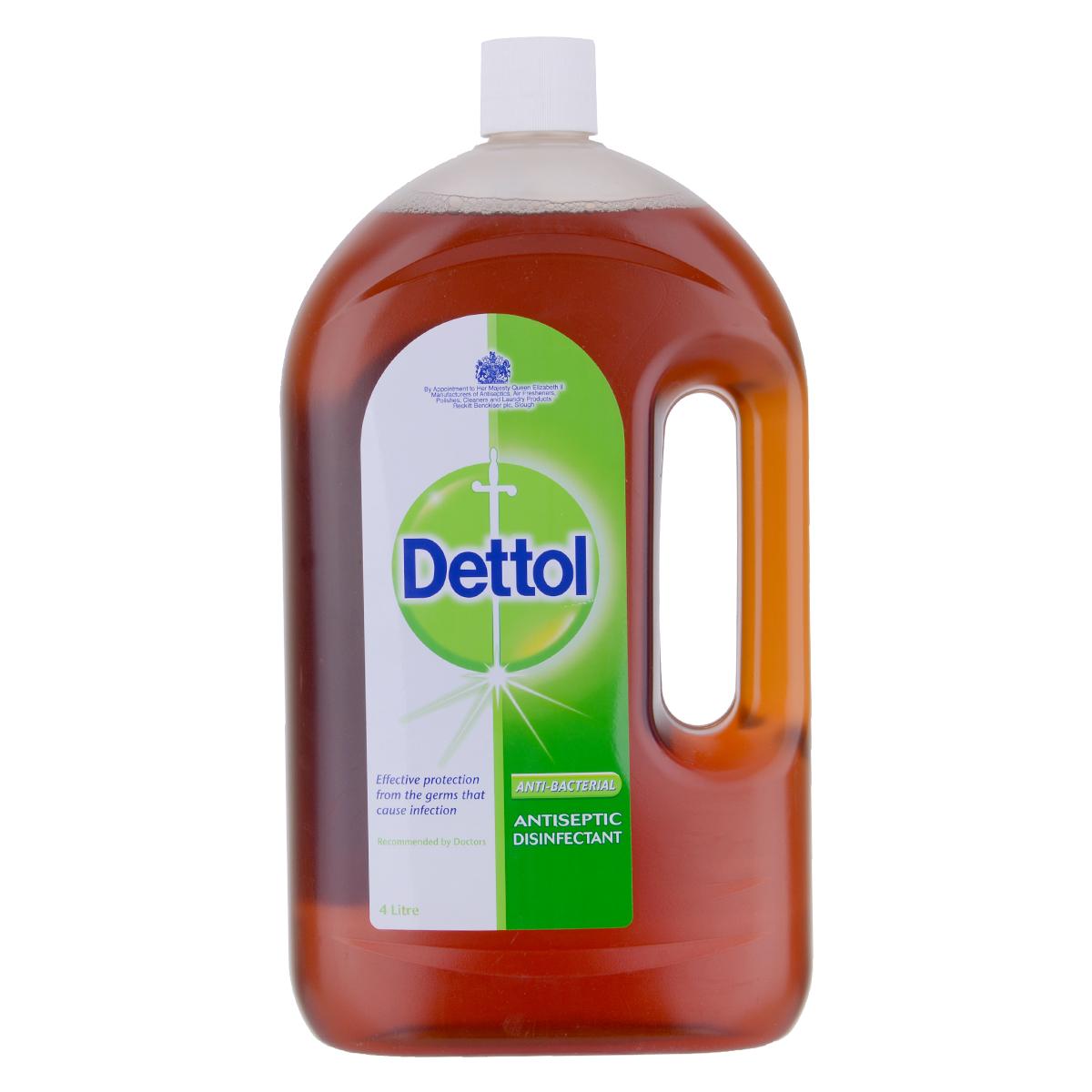 ديتول مطهر سائل مضاد للبكتريا لجميع الأغراض 4لتر
