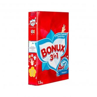 بونكس مسحوق غسيل 3 في 1 العطر الاصلي -  1.5 كجم