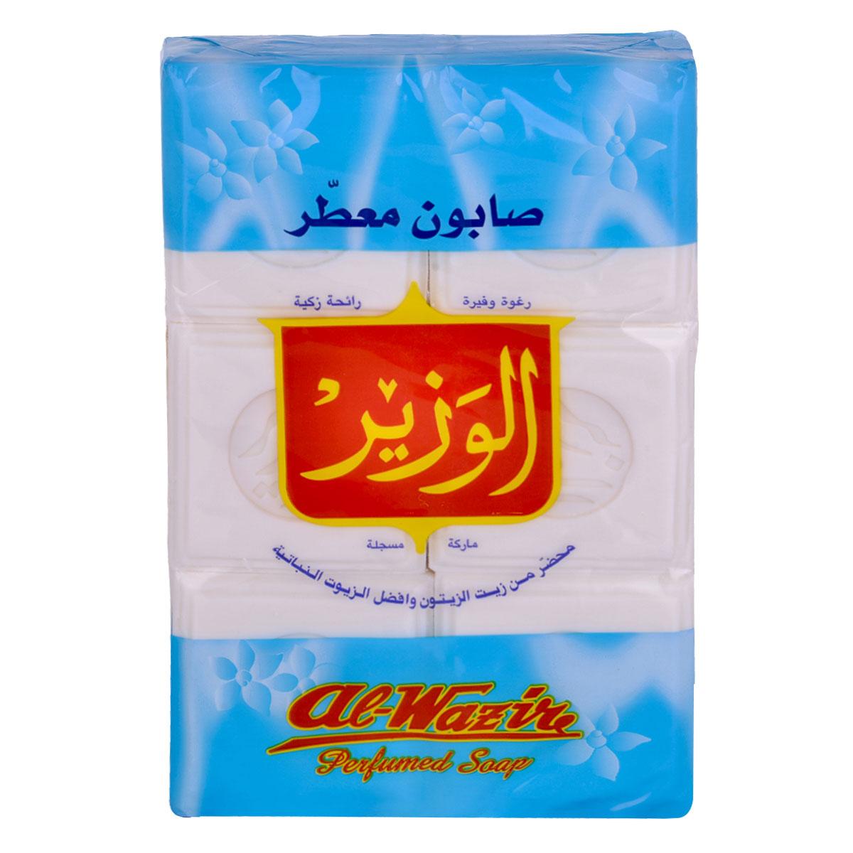 صابون معطر الوزير  900 جرام  - كيس  6 حبة