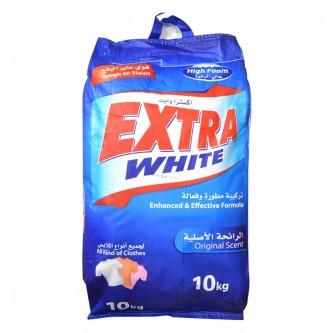 اكسترا وايت مسحوق الغسيل الرائحة الاصلية - كيس 10 كجم