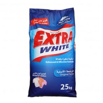 اكسترا وايت مسحوق الغسيل الرائحة الاصلية - كيس 25 كجم