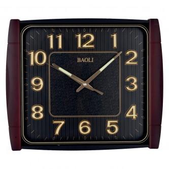 ساعة حائط  مستطيلة الشكل