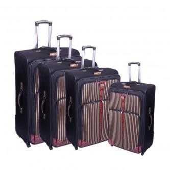 حقائب سفر بعجلات  ، 4 قطع  رقم  18061 - من ماي مارت