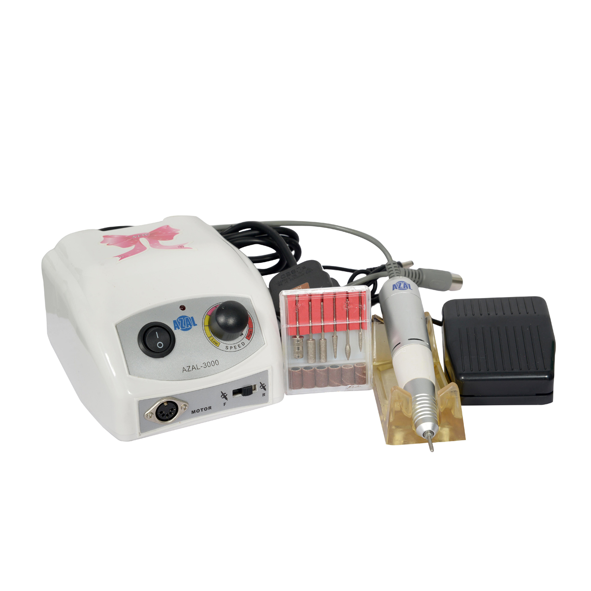 جهاز كهربائي للعناية بالاضافر مانيكير و باديكير ,ازال
