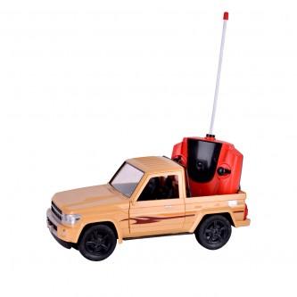 لعبة سيارة تويوتا شاص تعمل بالريموت كنترول - لون بني