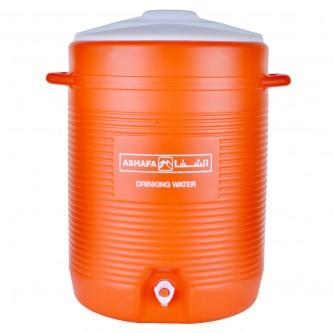 ترمس الشفاء - حافظة مياه وثلج  -  40  لتر -  10 جالون