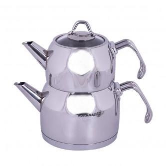 ابريق كوركماز لاعداد الشاي - استانلس استيل رقم A101