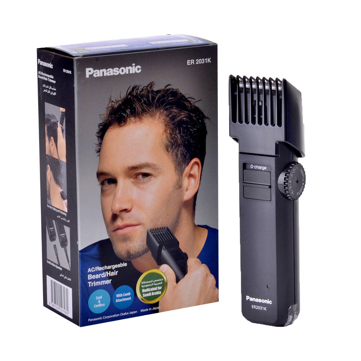 باناسونيك - ماكينة تشذيب الشعر واللحية القابلة للشحن ER2031K